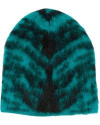 Laneus Green Wool Hat