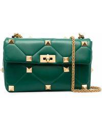 Valentino Garavani Leather Handbag - Green