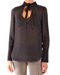 Dondup Black Synthetic Fibers Blouse