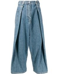 Loewe Blue Cotton Jeans
