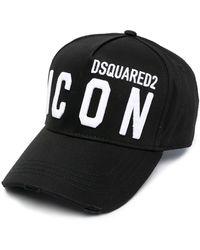 DSquared² Icon Baseballkappe - Schwarz