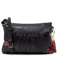 Desigual Black Polyurethane Shoulder Bag