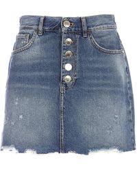Pinko Cotton Skirt - Blue