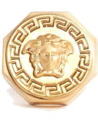 Versace Anello Medusa Color Oro - Metallizzato