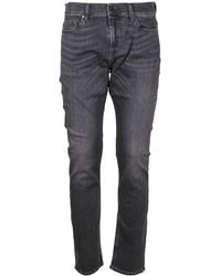 7 For All Mankind GRAU BAUMWOLLE JEANS