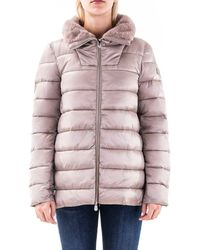Save The Duck Polyester Down Jacket - Grey
