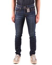 Siviglia Blue Cotton Jeans