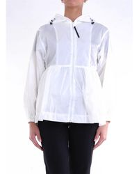 Duvetica Polyamide Outerwear Jacket - White