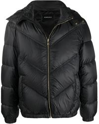 Versace Polyamide Down Jacket - Black