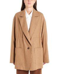 Golden Goose Deluxe Brand Women's G35wp164a1 Brown Wool Blazer