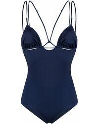 Jacquemus Polyester One-piece Suit - Blue