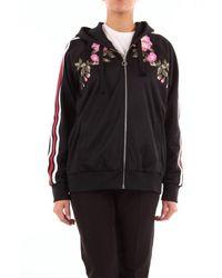Gucci 472245x9c18 Cotton Sweatshirt - Black