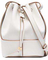 Loewe Leather Shoulder Bag - White
