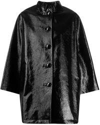 Balenciaga Cappotto 600147tgw331000 cotone - Nero