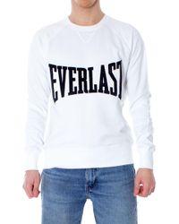 Everlast White Cotton Sweatshirt