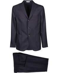 Boglioli Blue Wool Suit