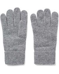 GANT Cotton Gloves - Grey