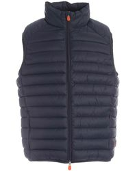 Save The Duck Polyamide Vest - Blue