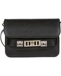 Proenza Schouler Black Leather Handbag