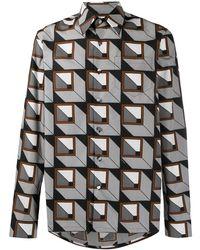Prada Cotton Shirt - Gray