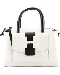 Hogan Leather Handbag - White