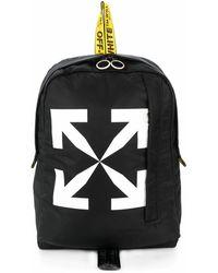 Off-White c/o Virgil Abloh Polyester Backpack - Black