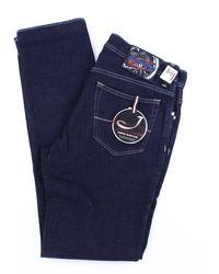 Jacob Cohen - Jeans modell 688 dunkelblau - Lyst