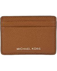 Michael Kors Brown Leather Card Holder