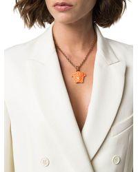Versace METALL HALSKETTE - Orange