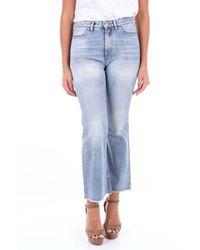 Pt05 Tx17c1vjcez10den Cotton Jeans - Blue