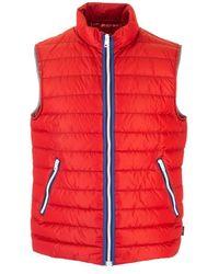 Fay Polyamide Vest - Red