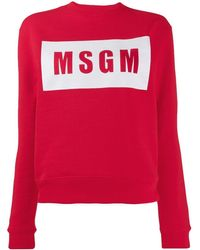 MSGM Logo Box - Red
