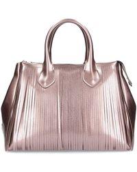 Gum - Bronze Leather Handbag - Lyst