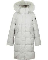 Peuterey Polyester Down Jacket - White