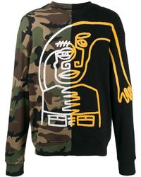 Haculla Multicolour Cotton Sweatshirt - Gray
