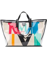 MCM POLYESTER TOTE - Natur