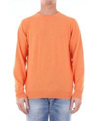 Della Ciana 20180210 Wool Sweater - Orange