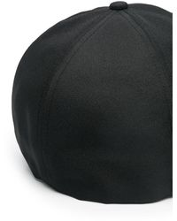C.P. Company Cappello da baseball con applicazione - Nero