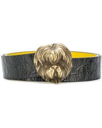 Marni Leather Belt - Black