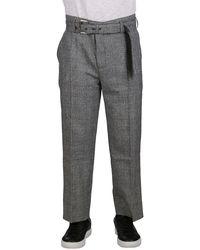 JW Anderson Wool Pants - Gray