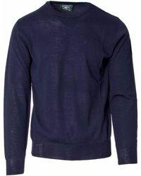 Beverly Hills Polo Club Blue Wool Jumper