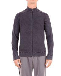 Heritage Grey Wool Jumper - Gray