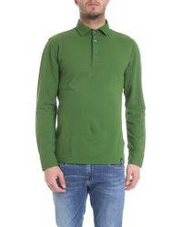 Drumohr Green Cotton Polo Shirt
