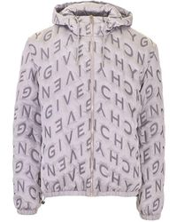Givenchy ANDERE MATERIALIEN JACKE - Mettallic