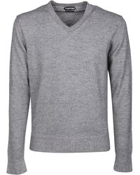Tom Ford WOLLE SWEATER - Grau