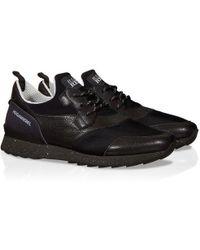 Hogan Rebel Black Fabric Sneakers