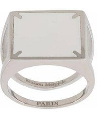 Maison Margiela Other Materials Ring - Metallic