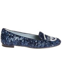 Chiara Ferragni Women's Blue Flats