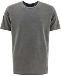 C.P. Company - ANDERE MATERIALIEN T-SHIRT - Lyst