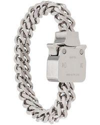 1017 ALYX 9SM Armband mit Kettengliedern - Mettallic